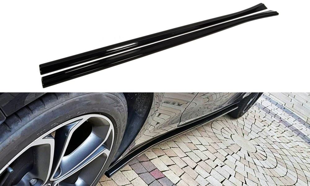 Dokładki Progów Opel Astra J GTC - GRUBYGARAGE - Sklep Tuningowy